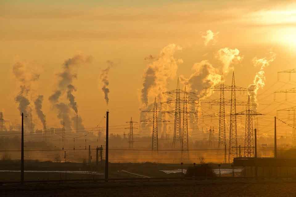 Luftverschmutzung und Umwelt