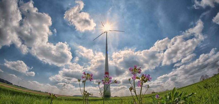 Umweltfreundliche Stromerzeugung